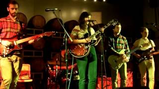 Lucy Dacus [green eyes red face 2] Hardywood park craft brewery 11 13 2015