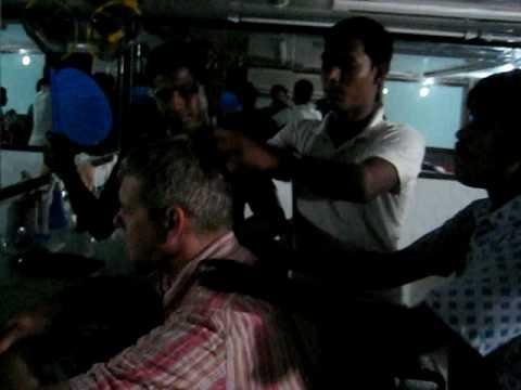 getting a long haircut in Dhaka Bangladesh