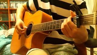 (acoustic fingerstyle) 아마자라시(amazarashi) - 내가 죽으려고 생각한 것은 (僕が死のうと思ったのは)