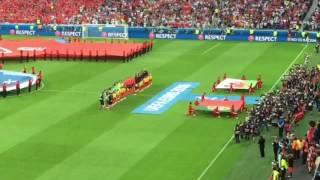 Hino portugues PortugalxPaís de Gales