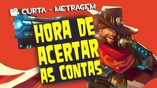 Acertando as Contas McCree Overwatch - Curta De Animação - Quasar Jogos