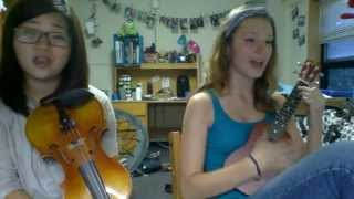 Nicotine by Panic! At the Disco (Uke and Violin Cover)