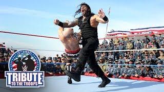 The Shield vs. Samoa Joe, Cesaro & Sheamus - Six-Man Tag Team Match: WWE Tribute to the Troops 2017 width=
