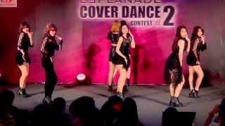 150614 BELLA cover T-ara - I Go Crazy Because of You @Esplanade Cover Dance #2 (Audition)