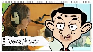 The Voice Artists: The Animated Series | Behind The Scenes | Mr. Bean Official