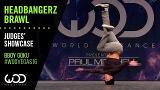 Bboy Goku | Headbangerz Brawl Judges' Showcase | World of Dance Las Vegas 2016 | #WODVEGAS16
