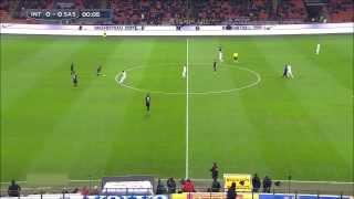INTER - SASSUOLO 1 - 0