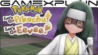Pokémon Let's Go Pikachu & Eevee - Lavender Town Gameplay Trailer