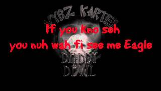 Vybz Kartel - Daddy devil (Lyrics on Screen)