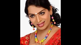 Surya Vinod - Female Artist, male from Kerala who dresses as female in saree and blouse
