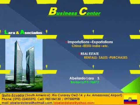 BUSINESS CENTER .EXPORTATIONS AND IMPORTATIONS ECUADOR