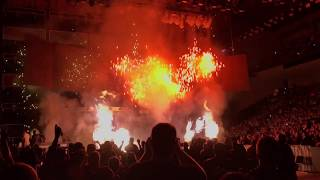 Extreme Rules 2017 pyro