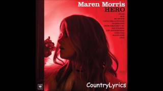 Maren Morris ~ Just Another Thing (Audio)