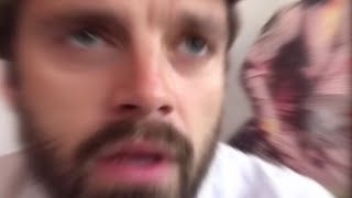sebastian stan being a comedian for 3 minutes straight