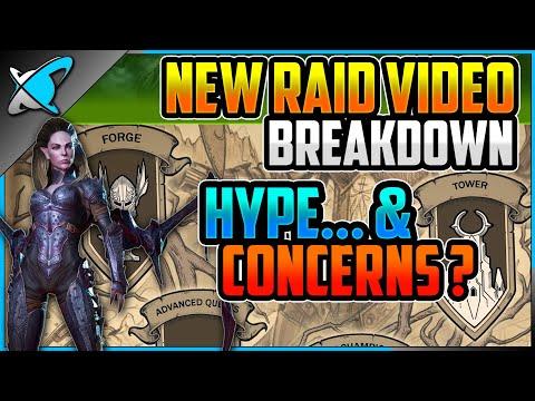 AMAZING New Trailer - Breakdown ! | HYPE & CONCERNS ?! | RAID: Shadow Legends