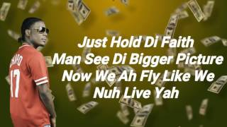Masicka - Cash Talk (Malibu Riddim) [Lyrics] - July 2017