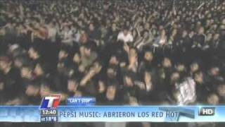 Red Hot Chili Peppers - Can't Stop - Live at Argentina 2011