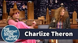 Jimmy Fallon and Charlize Theron Choose Each Other's Outfits