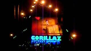 Gorillaz - Dare @ O2 Arena 14.11.10