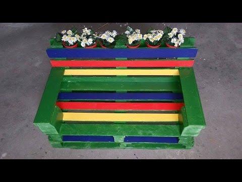 Come creare delle sedie con i pallet fai da te mania for Sedie fatte con pallet