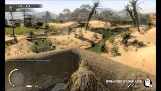Sniper Elite 3 matando a alexis jota gay