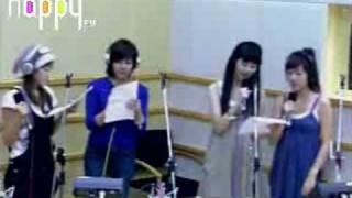 SNSD - Upside Down @ FM Inkigayo Aug27.2007 GIRLS' GENERATION Live