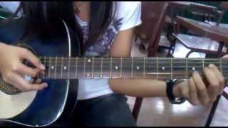 Kamikazee - NARDA (Easy Guitar Tutorial Plucking and Strumming)