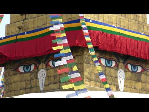 SANY0754.MP4 BoudhaNath Stupa Movie