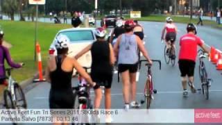Pamela Salvo 7873 Active Feet Fun Tri Series 2011 StKilda Race 6