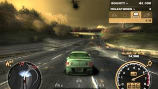 Flying away from cops with my Chevy Cobalt | Short scene | (NFS MW)