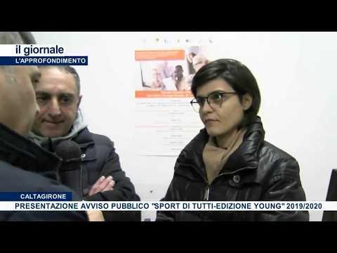 """(VIDEO) A Caltagirone """"Lo Sport per Tutti i ragazzi e giovani"""", grazie al progetto """"Sport di Tutti - Edizione Young"""" 2019/2020"""