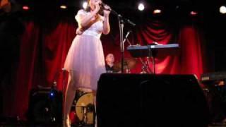 "Natalia Clavier ""Dormida"" Live in Montreal 2008"