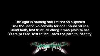 DragonForce - No More ft. Matt Heafy | Lyrics on screen | Full HD