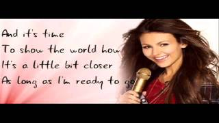 Make It Shine - Victoria Justice (HD) (Download Link) (Lyrics in Video)