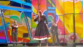 Eurovision 2009 Semi-Final 1 Portugal | Todas as ruas do amor
