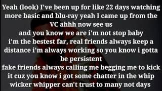 Ruben Paz - real friends (lyrics/letra)