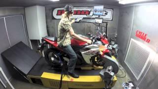 DYNO RUN VIDEO: 2015 Yamaha YZF-R3