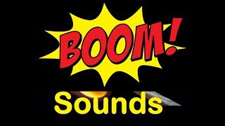 Boom Sound Effects All Sounds