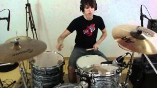 A arte de fazer inimigos - Gloria-  Drums Cover