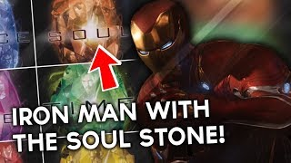 Iron Man Uses the SOUL STONE To BEAT Thanos In Infinity War?!- Infinity Stone Promotional Art! width=