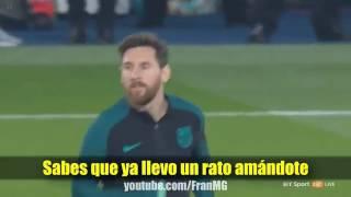 Cancion PSG -barcelona 4-0 (parodia luis fonsi -despadito ft. Daddy yankee