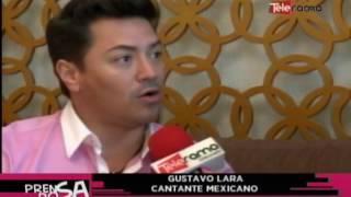 Gustavo Lara de cantante reconocido a participante de reality