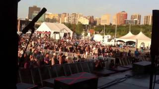 REIGNWOLF cover Fleetwood Mack The chain on mandolin Ottawa Blues Fest July 2012