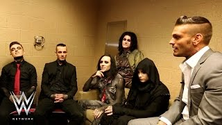 WWE Network: Corey Graves interviews Motionless in White - Culture Shock preview