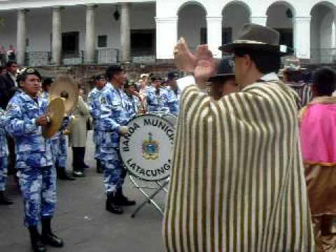 Banda Municipal de Latacunga: Fiestas Mama Negra