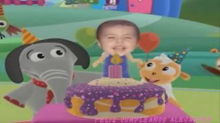 Feliz Cumpleaños Alejandra 2017 (Baby tv)