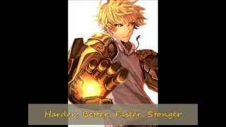 Harder, Better, Faster, Stonger - Nightcore (male Version)