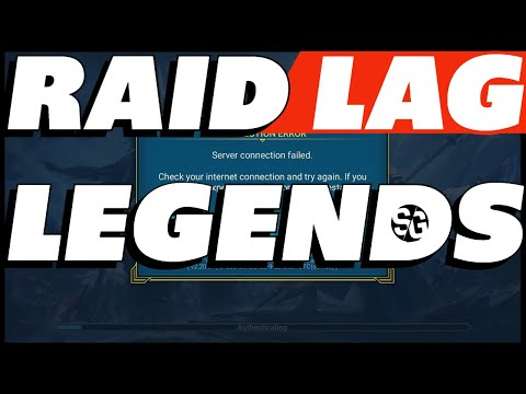Raid LAG Legends! Why we can't have nice things Raid shadow legends WTF is going on
