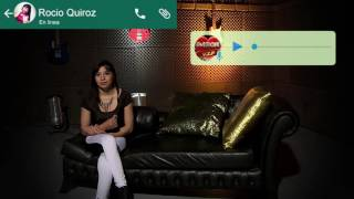 WhatsApp con Rocio Quiroz