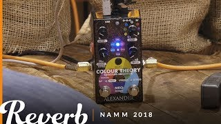 Alexander Pedals Colour Theory Spectrum Sequencer | Winter NAMM 2018